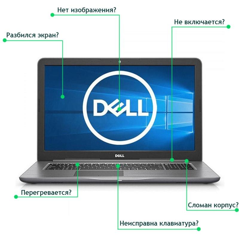 Ремонт ноутбуков Dell в Минске