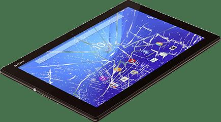 Замена экрана в планшете