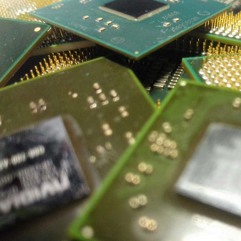 Замена BGA процессора в ноутбуке